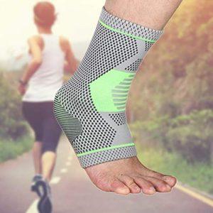 Robluee Sangle de Chevilles Sangle de Poignet Cheville Adapté à Câble Machine Musculation de Jambes Fesse Portable en Nylon