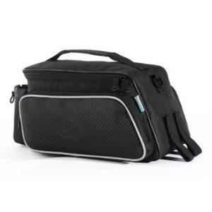 Roswheel Sacoche de vélo/Sac en bandoulière pour porte-bagage arrière de vélo Tissu résistant aux chocs et aux déchirures Noir