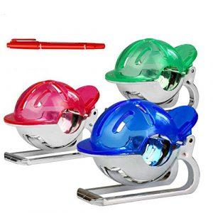 ShopSquare64 Golf Tee Accessoires de marquage en Plastique Crossed Ball Liner Clip Marker Scribe Outils