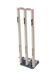 Slazenger Neuf Cricket Printemps estompes Heavy Duty 71,1cm avec Base en métal Cache-col/SNR, Red