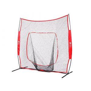TOPQSC 7x 7Baseball/réseau de softbol Soyez à taper, lancer et Atrapar équipement d'écran antirretroceso avec sac de transport