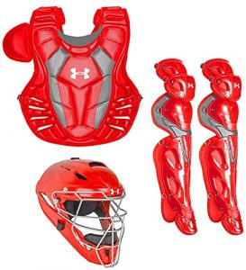 Under Armour Converge Pro Youth 9–12Anti-Gouttes Gear Set, écarlate, Youth 9-12