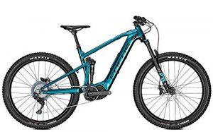 VTT électrique FOCUS Jam2 6.8 Plus 400wh Bleu Noir – M