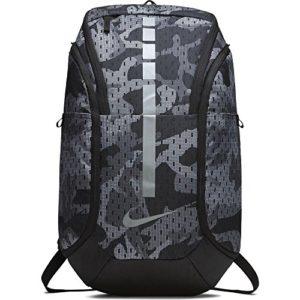 Nike Unisexe Hoops Elite Pro Basketball Sac à Dos Pistolet à fumée/Noir