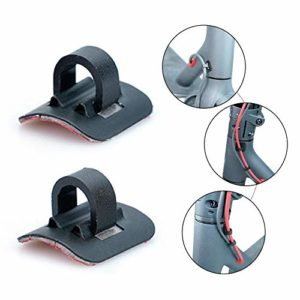 Organisateur de Boucle de Lien de câble de Scooter de pièces de Scooter Professionnel pour XIAOMI M365 Scooter 2PCS