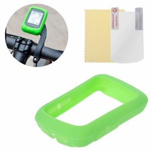 Runrun Housse de Protection élastique Souple en Silicone pour Ordinateur Bryton 410 405, Vert