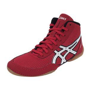 Asics – Matflex rouge lutte – Chaussures de lutte – Rouge – Taille 35