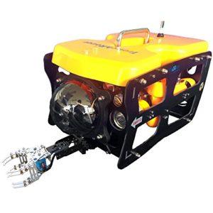 Caméra sous-Marine à Robot Drone 110ROV Underwater ThorRobotics avec Bras mécanique et Station au Sol Type3.Wire & Arm & Version de la Station au Sol