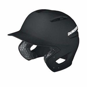 Demarini – Casque de Baseball Paradox Noir Matte Taille – S/M