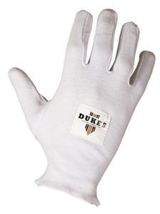 Ducs série Player Full Finger gants en coton coussins de Batteur de Sport de Cricket multicolore Multicolore Boys