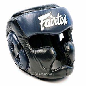 Fairtex Full Headguard HG13 – Black/Blue