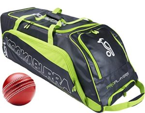 Kookaburra Cricket Pro joueurs Sac à roulettes Fourre-tout 1000x 380x 360mm avec boule gratuit