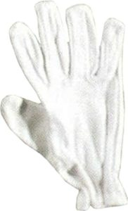 Mens Cricket Batsmen Hand Protection Glove Batting Inner Gloves White Cotton by Only Cricket