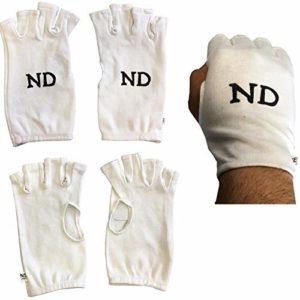 ND Mitaines Coton Intérieur Gants Divers Taille Cricket Gant Intérieur Dames Hommes UK – Blanc, Ladies