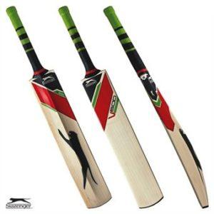 Slazenger V600Elite Batte de Cricket en Saule, Taille complète SH, Poids Moyen