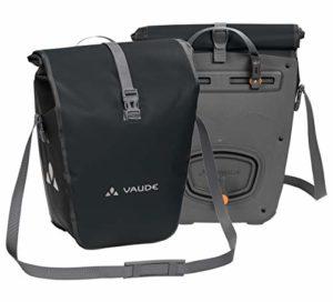 VAUDE Aqua Back Sacoche de vélo pour roue arrière – une paire – Volume 48 l – matière bâche sans PVC