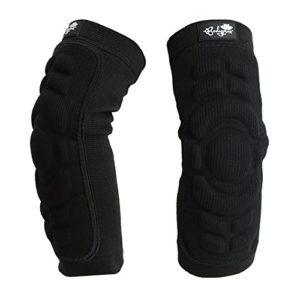 1 paire de coudières avec coussinets de protection Bodyprox, grand