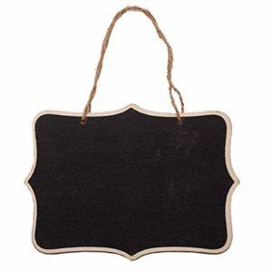 CHANNIKO-FR Petit Tableau Noir décoratif Bienvenue Porte 160210 Produits de Soins de santé et de beauté