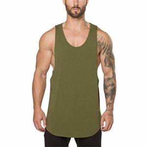 Dmitongz T-Shirt d'entraînement pour Homme pour la Gymnastique et Le Bodybuilding – – XX-Large