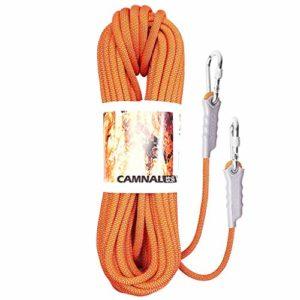 FLYSXP Corde de Levage Corde de Camping/Escalade/Escalade/Conduite sur Route/plongée Couleur résistant à l'usure Taille en Option Corde d'escalade (Color : E, Size : 8mm 15m)