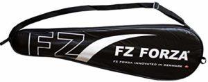 Forza – Couverture Rigide/Thermobag / Housse de Protection/Housse de Raquette pour la Protection des Raquettes de Badminton ou de Squash – avec bandoulière Pratique