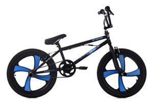KS Cycling 663B BMX Freestyle Mixte Enfant, Noir, 20