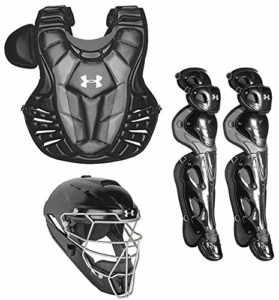 Under Armour Converge Pro Youth 9-12 Anti-Gouttes Gear Set, Noir, Youth 9-12
