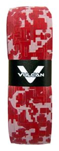 Vulcan Apocalypse/Ultra léger 0,50 mm Ultra Light Bat prise en main, Red Camo, Vulcan 1.75mm Bat Grips