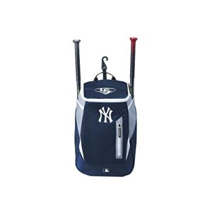 Wilson Sac de Baseball Louisville Slugger, New York Yankees, MBL GENUINE (SERIES 3) STICK PACK, Marine/Charbon, WTL9302TCNYY