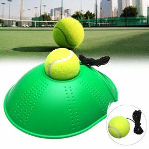 Anddoa Outil d'entraînement de Tennis pour Rebond, entraîneur d'auto-étude, Ballon de Baseboard