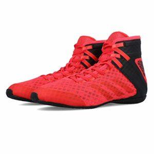 adidas SPEEDEX 16.1 Chaussures de Boxe Hommes, Rouge, 45 1/3