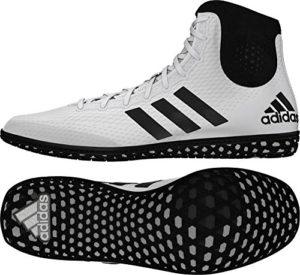 adidas Tech Fall 16Rio Wrestling Chaussures White-Red – Blanc – Blanc/Noir,