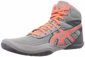 ASICS 1084A007 Matflex 6 GS Youth Chaussures de Lutte pour garçon – Gris – Gris, 38 EU