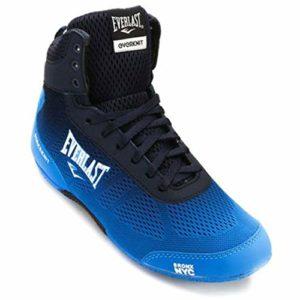 Everlast Forceknit, Chaussures de Boxe Mixte Adulte, Bleu Blue, 44 EU