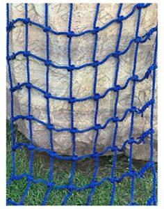 Filet Escalade,Filet d'escalade Corde pour Grimper Enfant Adulte Rope Ladder Escalade Nylon Cordes Hamac-Filet Mesh Filets Maille de Rangement Voiture Coffre Grand Bagage Auto Remorque Chargement
