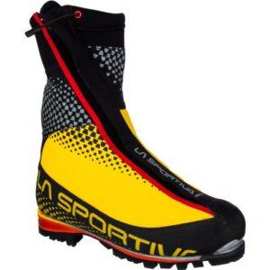LA SPORTIVA Batura 2.0 GTX, Chaussures d'excalade pour Homme Multicolore Noir/Jaune 44 EU