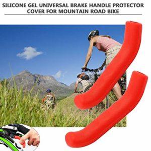 Momorain Gel de Silicone Type Universel Poignée De Frein Barre Grip Outil Levier Protection Couverture Protecteur Cas Shell pour Vélo De Route De Montagne