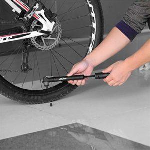 Momorain Kit de Pompe à Haute Pression ni Portable Pompe de vélo à Double entrée pour Road Mountain BMX Kit de réparation de Pneu de vélo