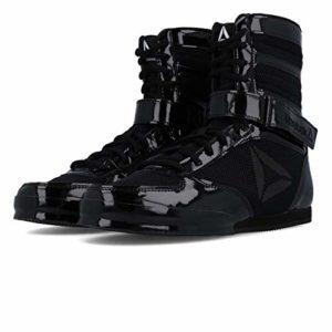 Reebok Boxing Boot-Buck, Chaussures d'arts Martiaux Homme, Noir Black 000, 44 EU