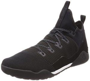 Reebok Combat Noble Trainer Chaussures de Boxe Homme, Multicolore (Black/White 000), 44 EU