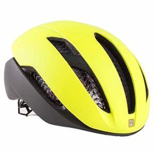 Casque de vélo de Montagne Professionnel avec 28 Ouvertures de Protection et Respirant, réglable, Confortable et léger, certifié SGS, Jaune, M(54