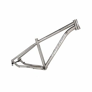 MAIKONG Alliage titanique Cadre de vélo de Montagne Cadre de VTT léger Cadre de vélo de Montagne Cadre de vélo de VTT 17.5 / 29er Routage Interne,27.5,height19