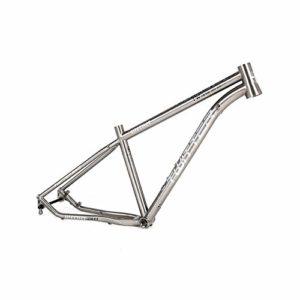 MAIKONG Alliage titanique Cadre de vélo de Montagne Cadre de VTT léger Cadre de vélo de Montagne Cadre de vélo de VTT 17.5 / 29er Routage Interne,29,Height15.5