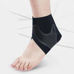 vbncvbfghfgh Réglable Sport sous Pression Cheville Support Wraps Protecteur Sport Basket-Ball Bandages Élastique Cheville Protecteurs