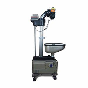 YLOVOW Automatique Pitching Machine Sport Pitching Formation Portable Hauteur De La Machine Réglable Lancement Machine Service