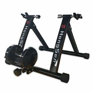 MINUS ONE Home Trainer pour 24-27″ Roue de vélo 330lbs Home Trainer Velo Route Magnétique Vélo en Intérieur
