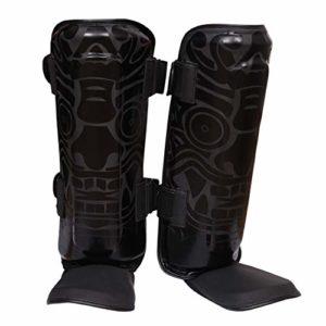 3X Professional Choice Protège-Tibias Protège-Jambes MMA Jambières Vêtements de Protection Boxe Thaïlandaise UFC MMA Formation Kick-Boxing