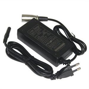 42V 2A Adaptateur Secteur Chargeur pour 36V 10AH Lithium-ion Scooter électrique Rechargeable E-bikes