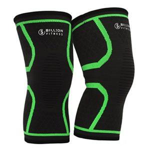 5BILLION de genouillère genouillères sport pour femmes et hommes genouillère méniscale et genou anti-dérapant élastique respirant genouillère sportive avec ourlet anti-dérapant (1 paire)