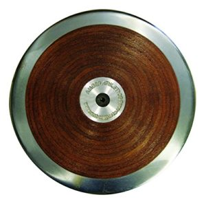 AAG Amazer Official Competition Wooden Track Throw Discus for Track and Field 2kg IAAF Certified